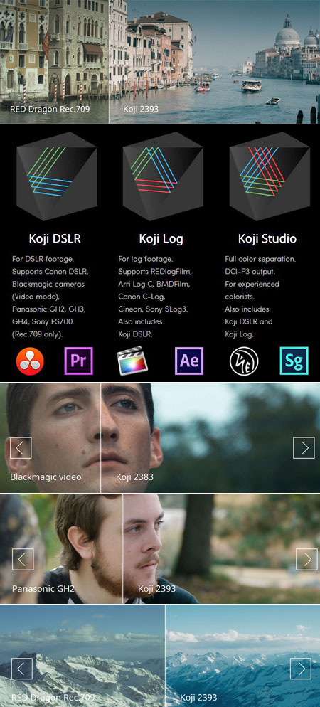 Koji Color: Film Color LUTs Plugins Free download - Nama