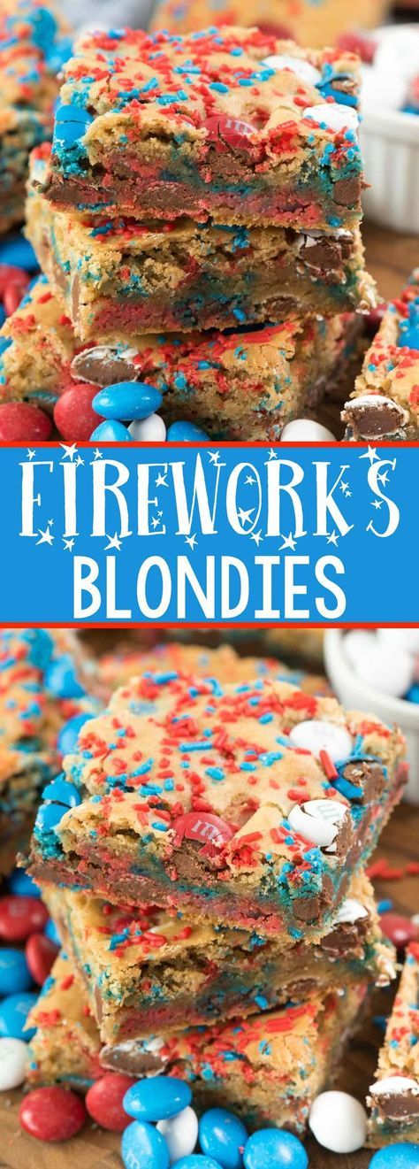 FIREWORKS BLONDIES