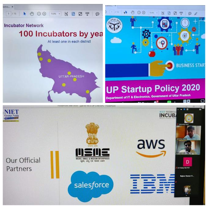 बूटाथान में यूपी स्टार्टअप पॉलिसी 2020 के बारे में दी जानकारी