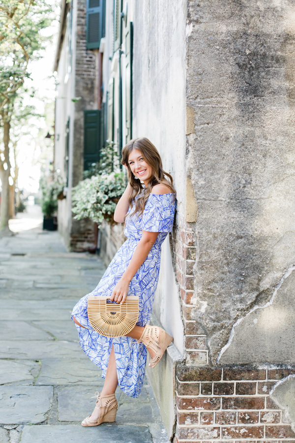 Go-To Bamboo Purse with Vineyard Vines Dress