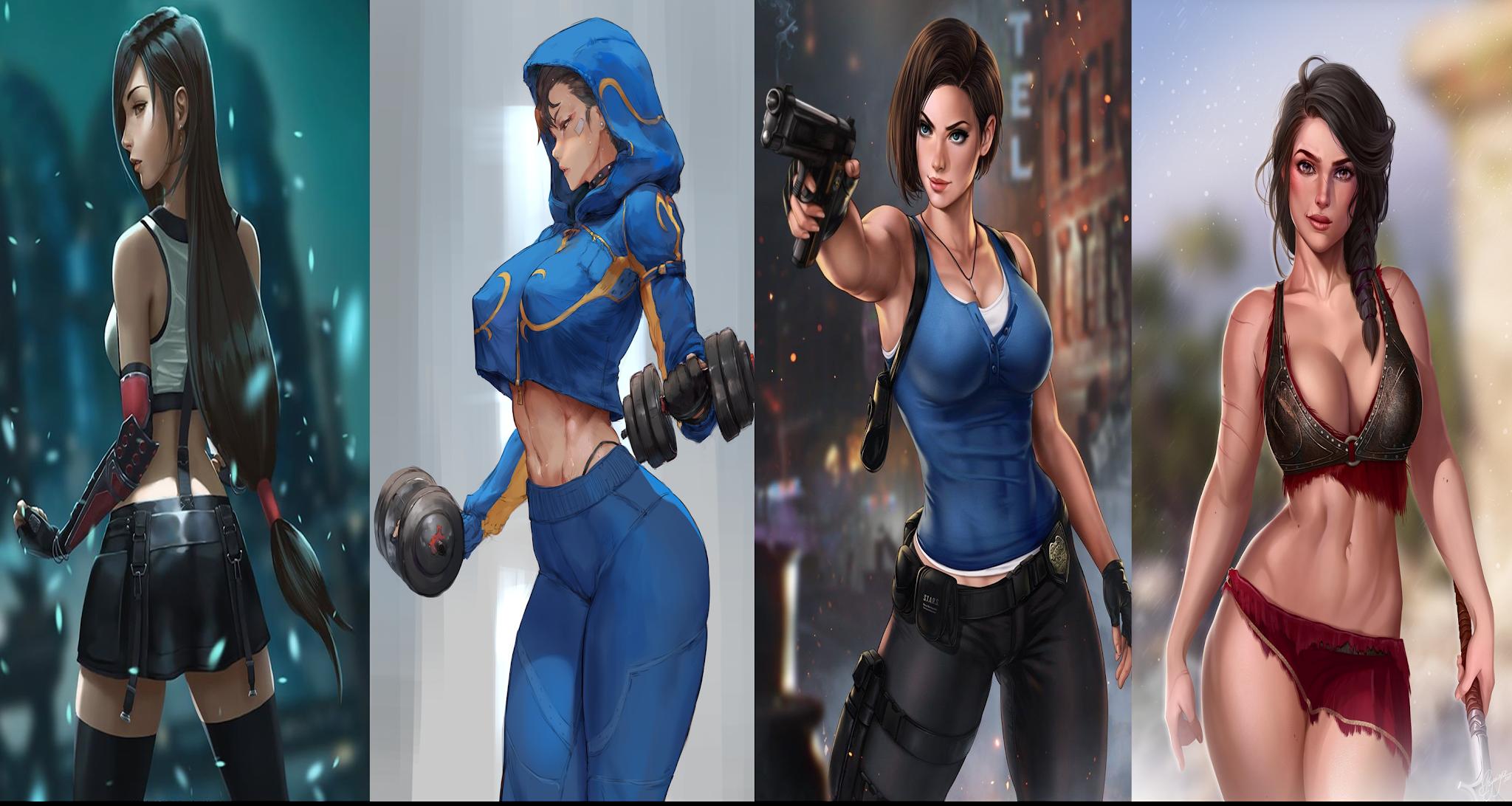En los últimos treinta años, hemos visto muchas chicas en los videojuegos, y hay una cosa que todas tienen en común, la sensualidad.