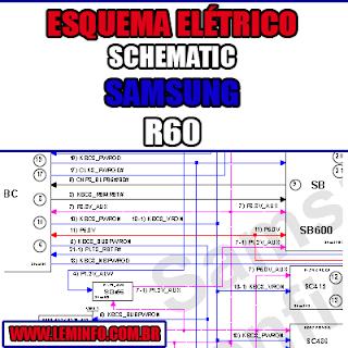 Esquema Elétrico Manual de Serviço Notebook Laptop Placa Mãe Samsung R60 Schematic Service Manual Diagram Laptop Motherboard Samsung R60 Esquematico Manual de Servicio Diagrama Electrico Portátil Placa Madre Samsung R60