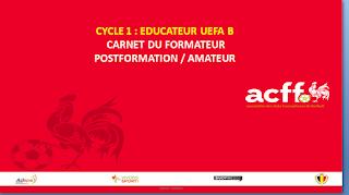 Résumé pdf  CYCLE 1 : EDUCATEUR UEFA B