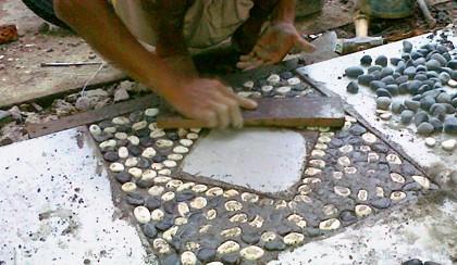 model keramik garasi minimalis terbaru