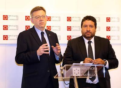 La Generalitat y la Diputación de Castellón firman un convenio para la creación de un cuerpo especial de brigadas de emergencia