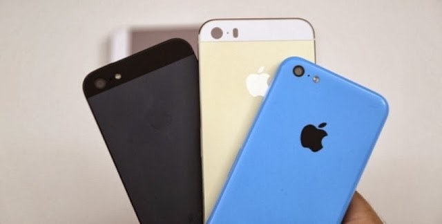 Apple iPhone 5S vs iPhone 5C vs iPhone 5