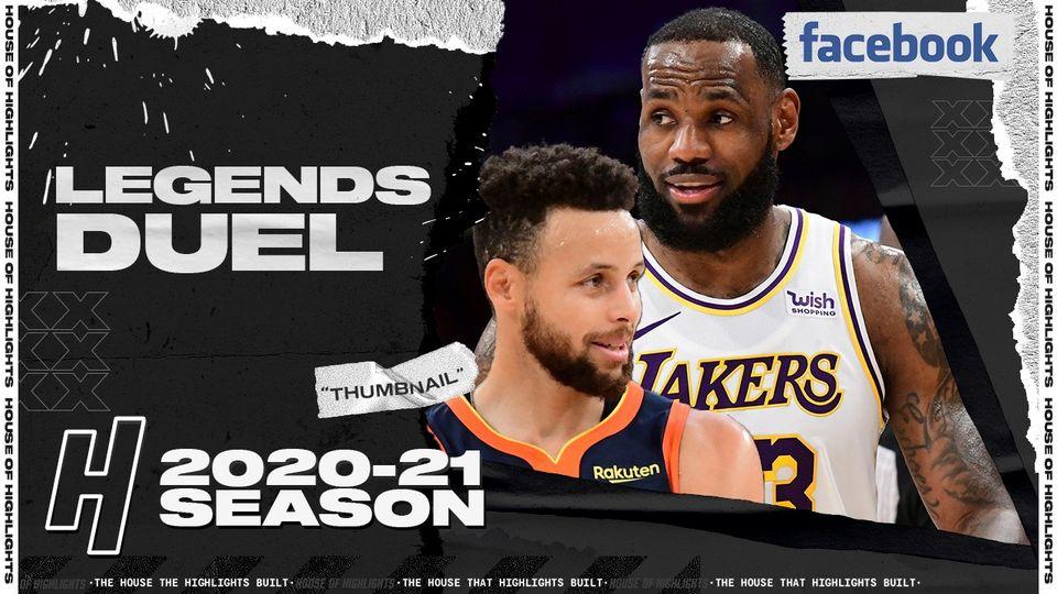LeBron James 19pts vs Stephen Curry 16pts | February 28, 2021 | 2020-21 NBA Season