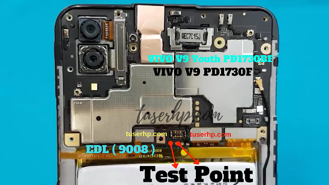 Firmware Vivo V9 (PD1730F) QUALCOMM 2108 - TUSERHP