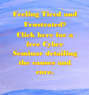 Tired and frustrated? Click her for a free cyber seminar
