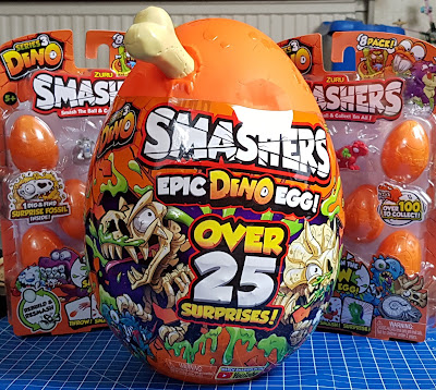 Smashers Epic Dino Egg and two multipacks of Zuru Dino Smashers