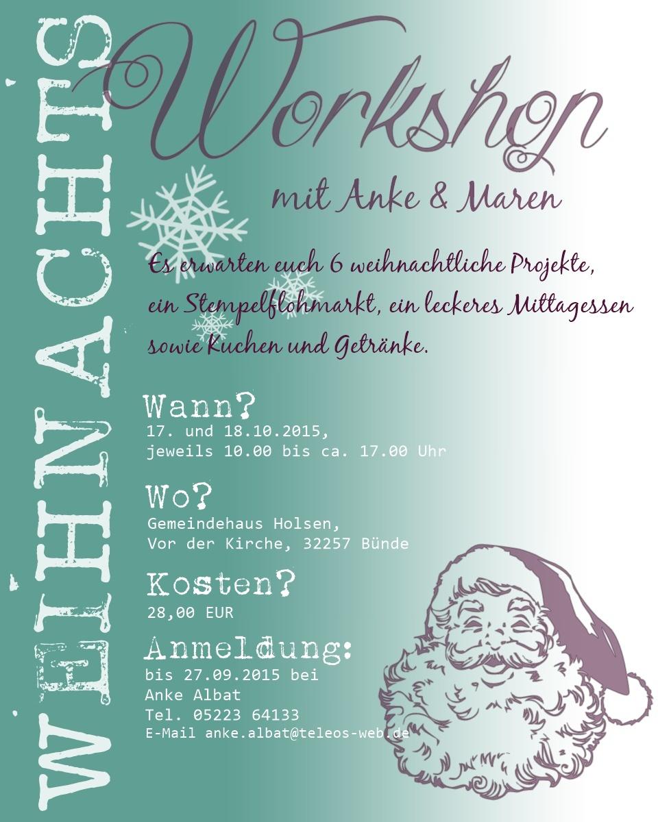 einladung workshop muster