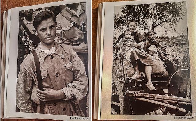 Fotografias de Robert Capa no Museu Reina Sofia, em Madri
