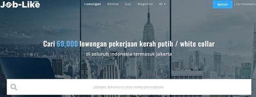 Situs Lowongan Kerja Job-Like.com
