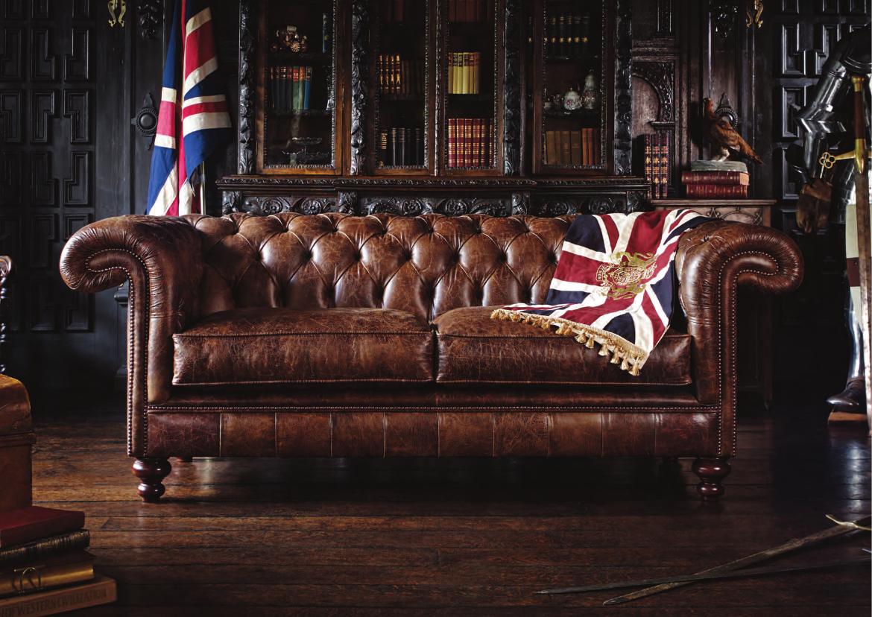 Vivre shabby chic the english chesterfield co gli originali divani inglesi - Divano in inglese ...