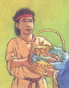 La moltiplicazione dei pane e dei pesci