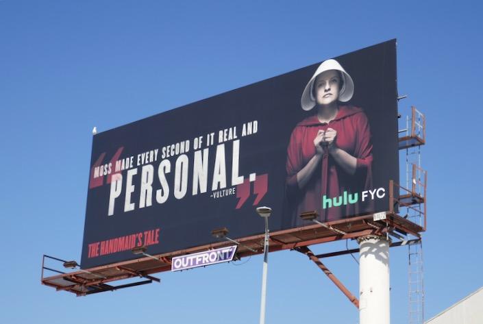Handmaids Tale season 3 Personal Elisabeth Moss FYC billboard
