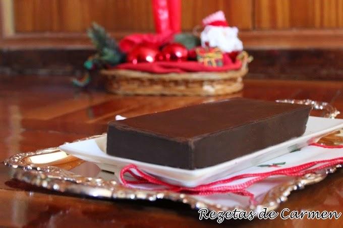 Turrón de chocolate crujiente  { videoreceta }