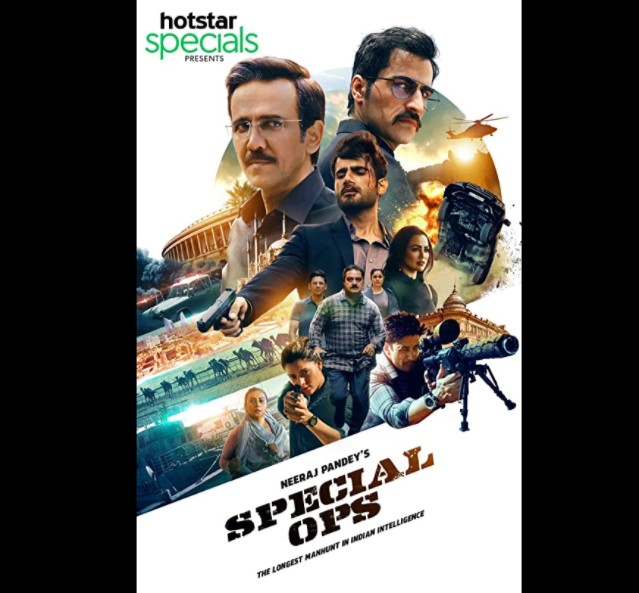 Special Ops web series in hindi poster