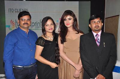 Sony Charishta at H-Line Soft Event