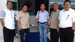 Bupati, Ketua DPRD,Kaban BPBD, Kadis PU, Anggota DPRD