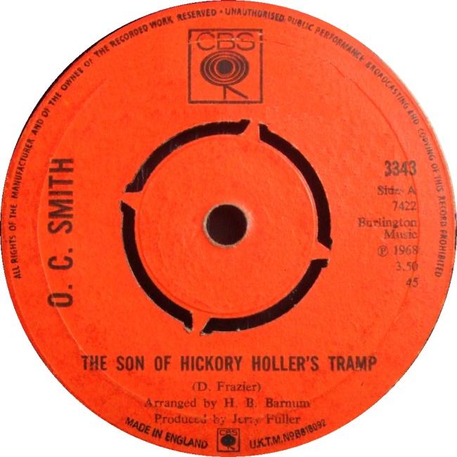 THE SON OF HICKORY HOLLER'S TRAMP - Lyrics - International ...