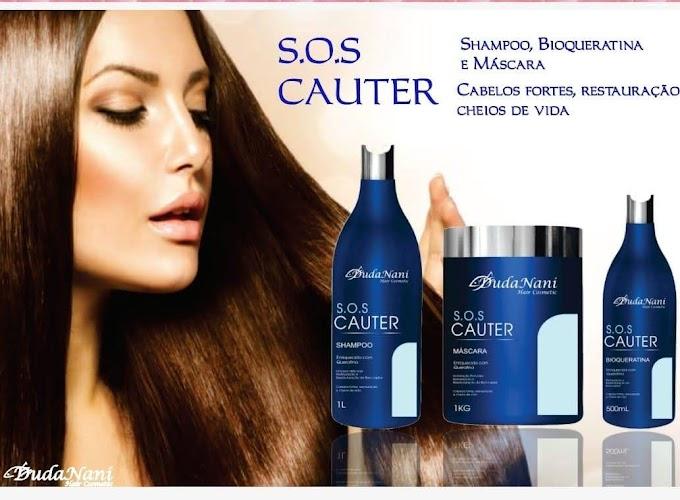 S.O.S Cauter Shampoo Bioqueratina e Mascara