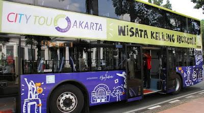 Tidak Ingin Ribet Berwisata di Ibu Kota? Saya Sarankan Gunakan Bus Wisata Jakarta