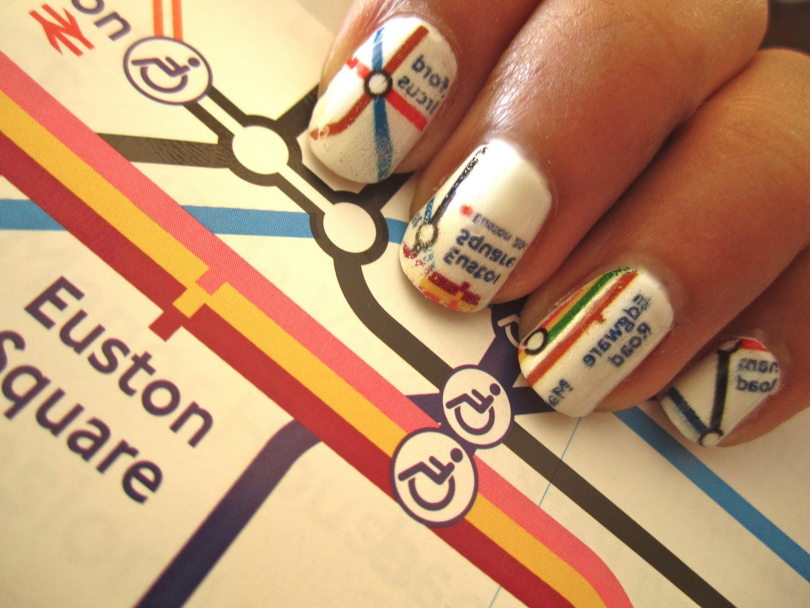 Nail art stamp collecting any second now hey darling polish nail go around the world nail art ideas inspired by the travaholics travel nail art prinsesfo Images