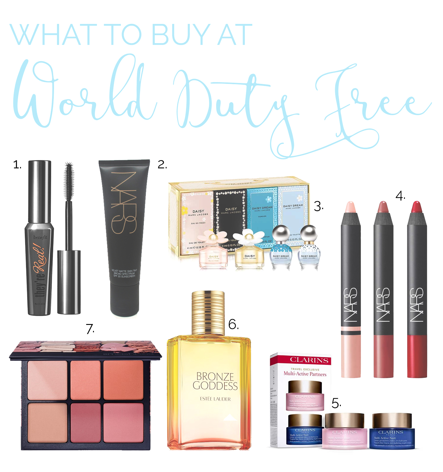 What to buy at world duty free