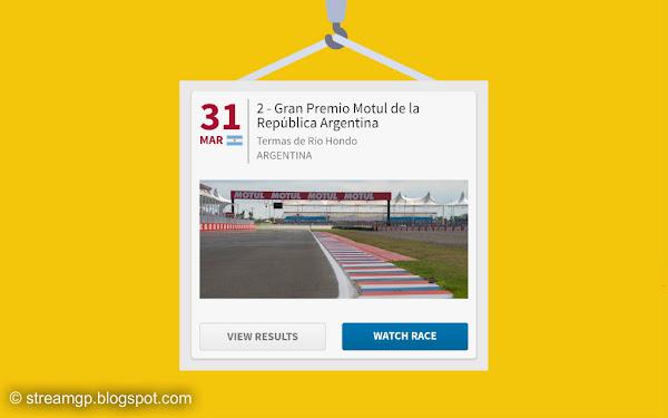 Argentina motogp full race gran premio motul  Argentina MotoGP Full Race, Termas de Río Hondo 2019