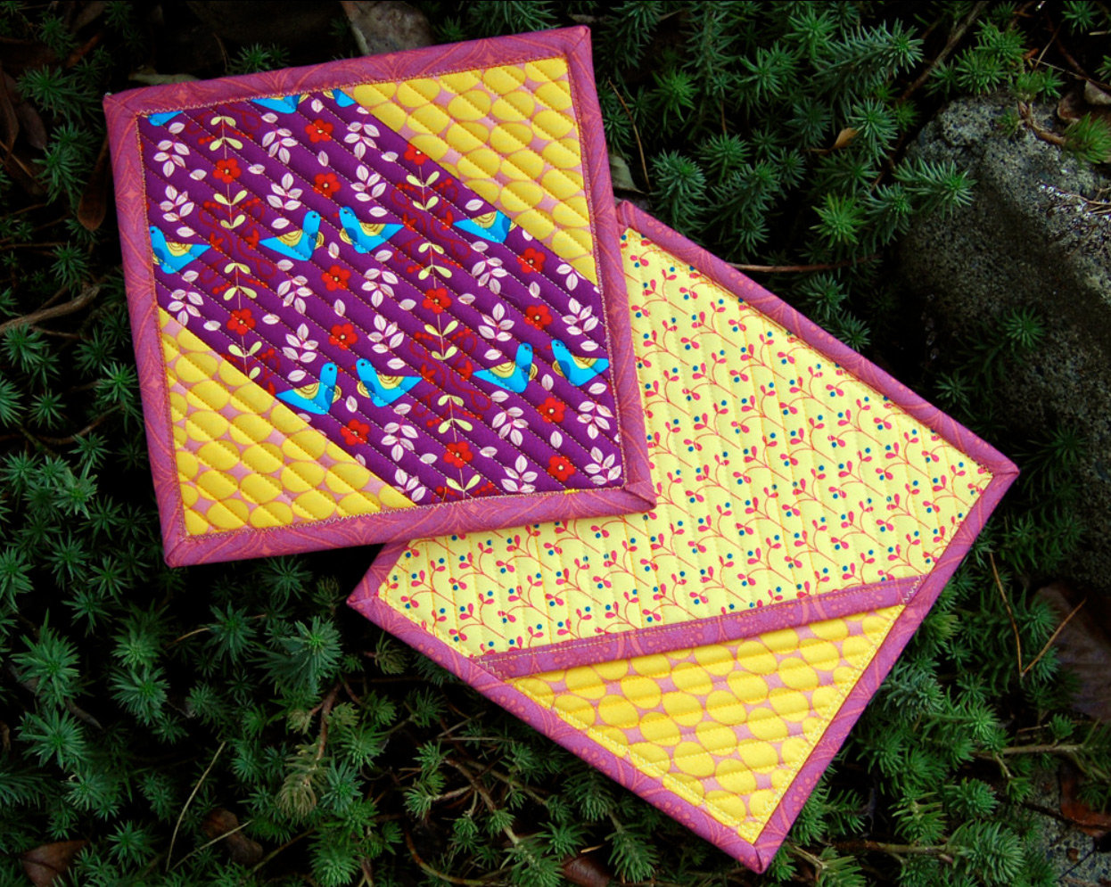 Sugar & Spice Potholders Tutorial