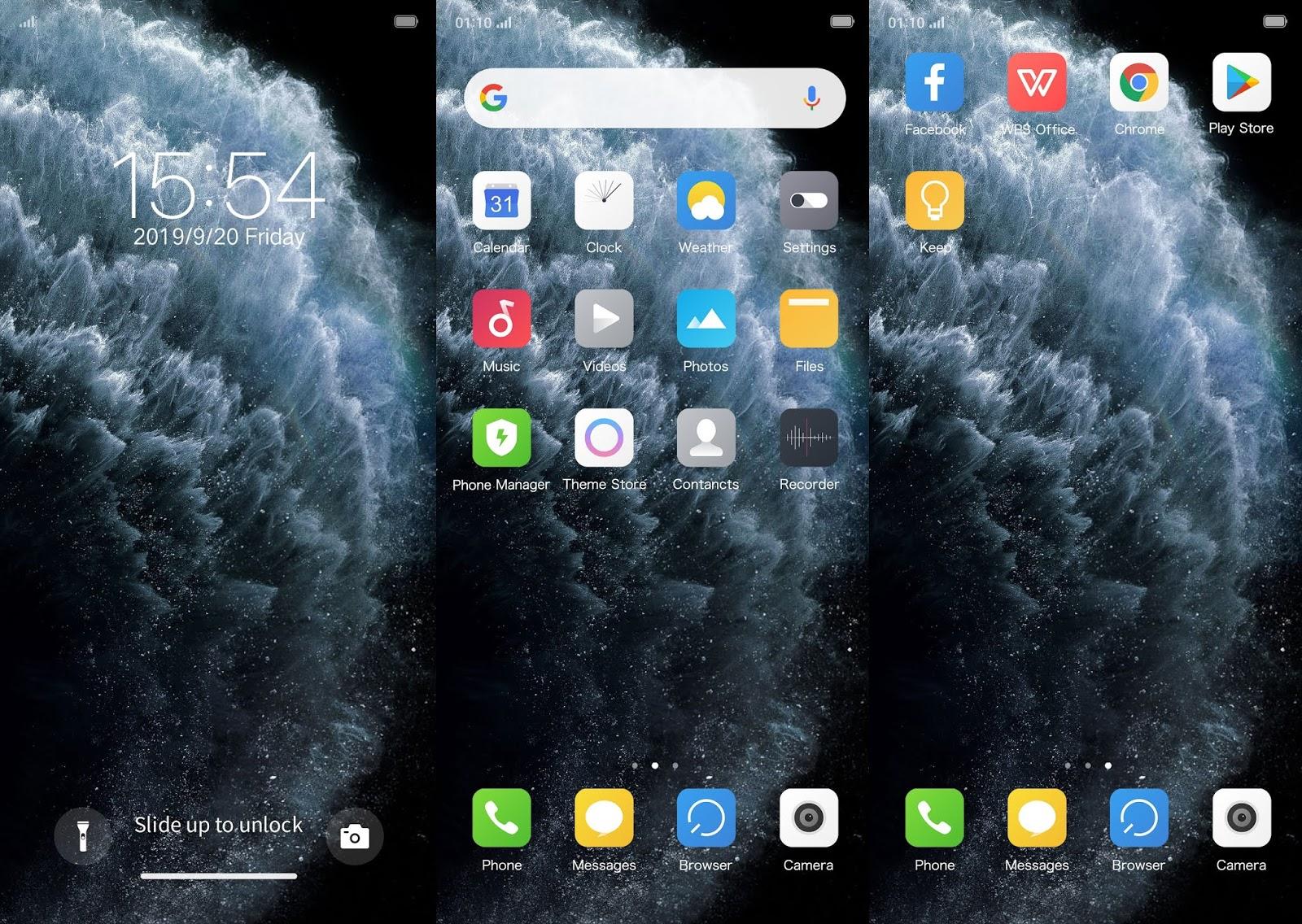 Themes iPhone 11 Pro Max UI Premium for OPPO & Realme