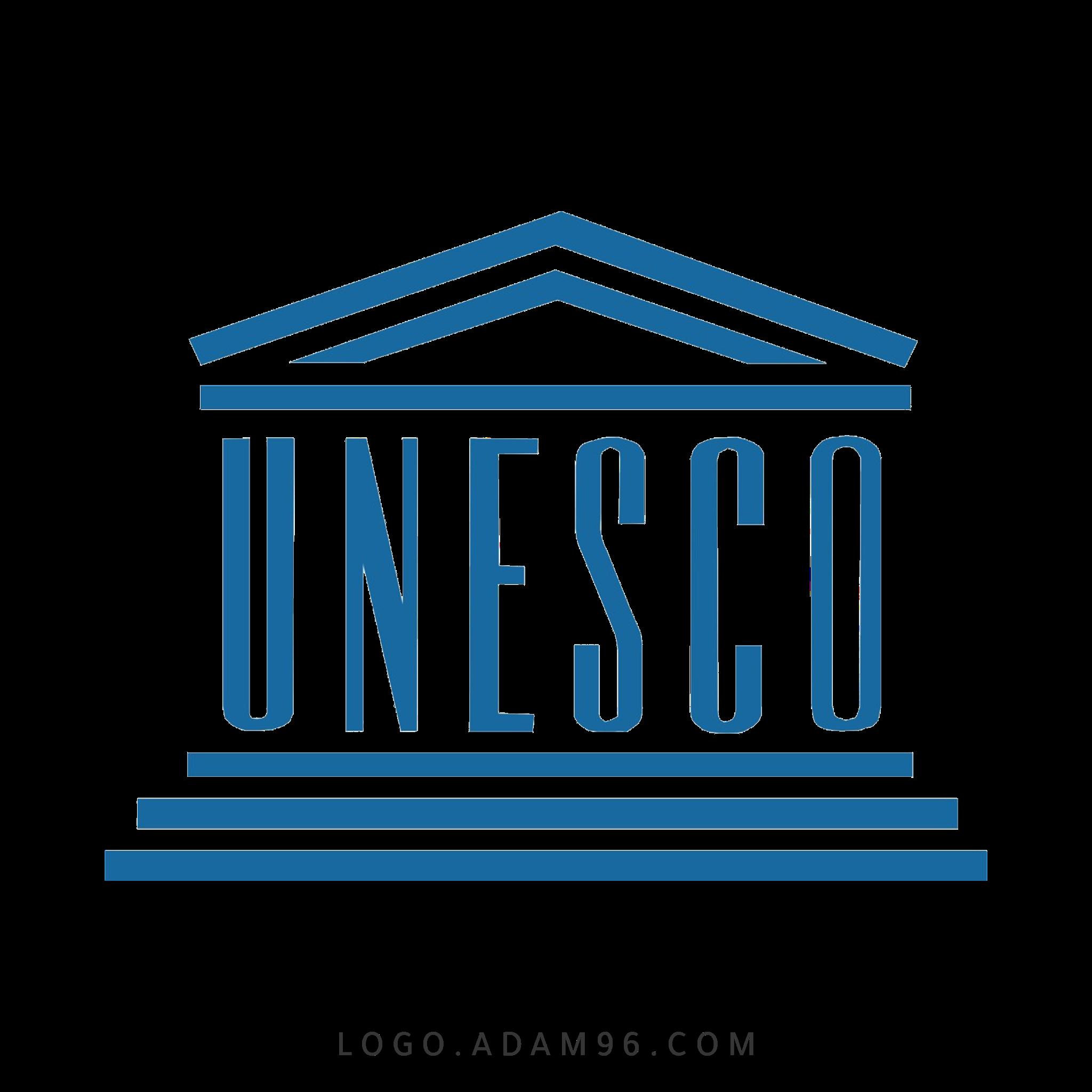 تحميل شعار منظمة يونسكو لوجو رسمي عالي الجودة LOGO UNESCO PNG