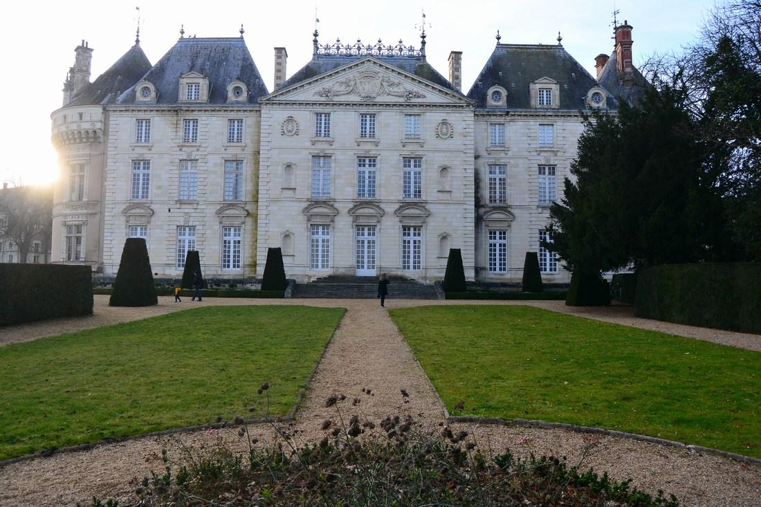 chateau du Lude façade Est