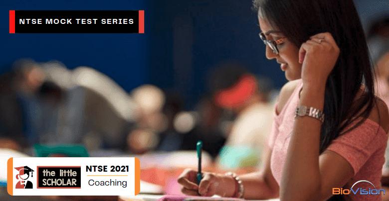 Mock Test Series: NTSE Scholarship Exam Coaching 2021