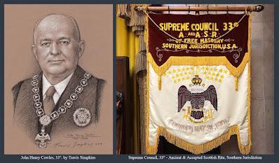 John Henry Cowles, 33°. Sovereign Grand Commander. Supreme Council. Scottish Rite, SJ. by Travis Simpkins