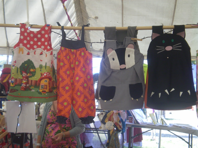 kids clothes for sale at camp bestival