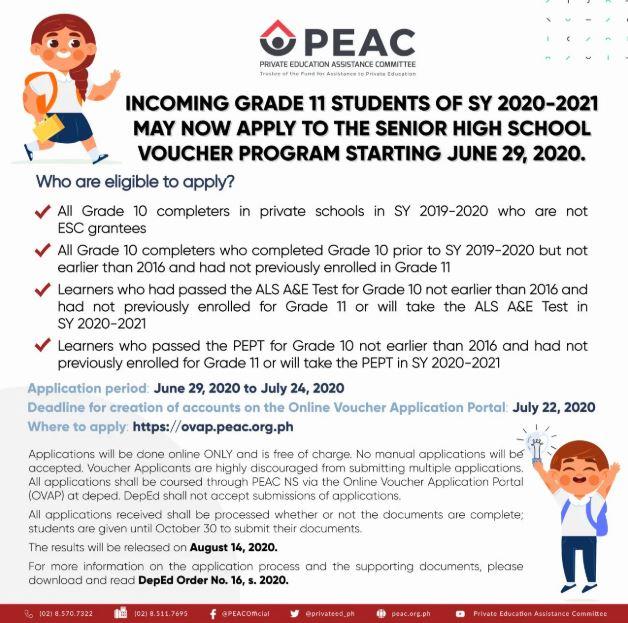 How to register at OVAP for DepEd Senior High School Voucher Program
