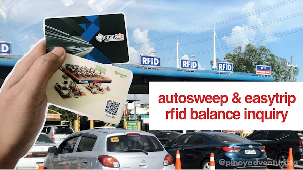 HOW TO CHECK RFID BALANCE? Autosweep and Easytrip Balance Inquiry