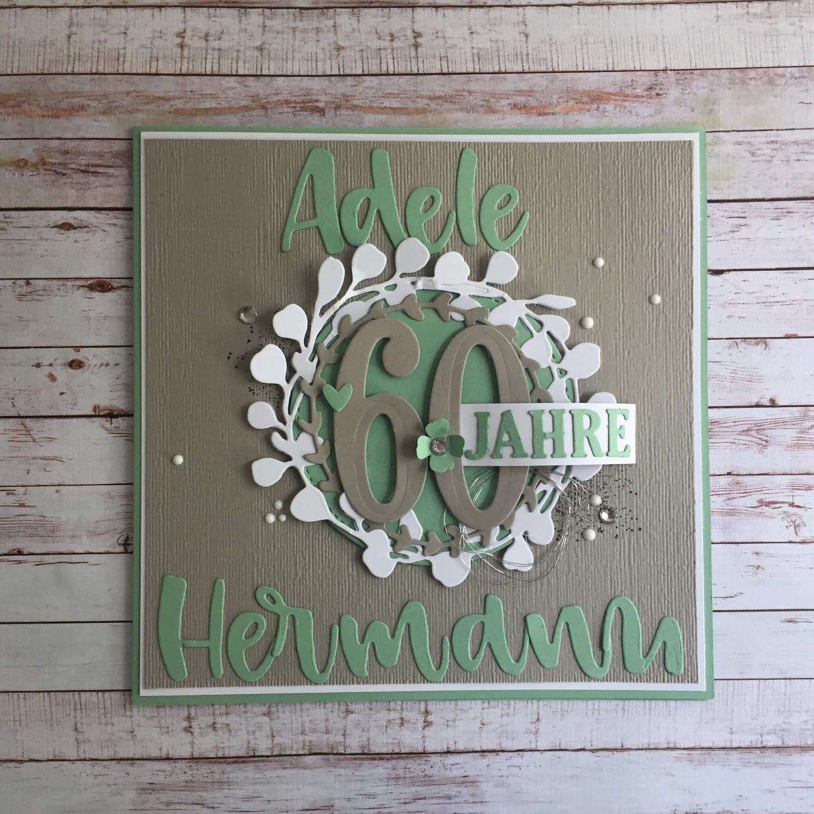 K303274ste Algarve Karte.Stampin Up Karte Diamantene Hochzeit
