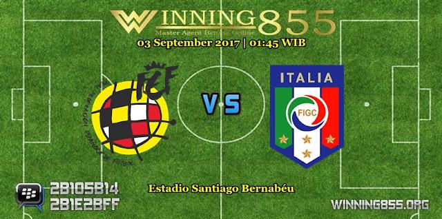 Prediksi Skor Spanyol vs Itali