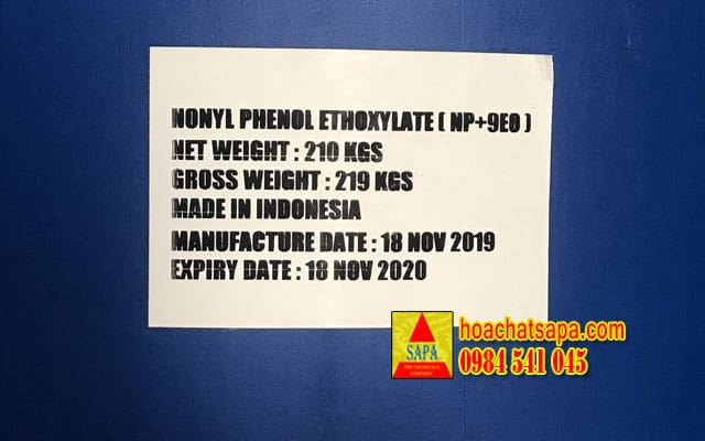Nonyl Phenol Ethoxylate (NP9)