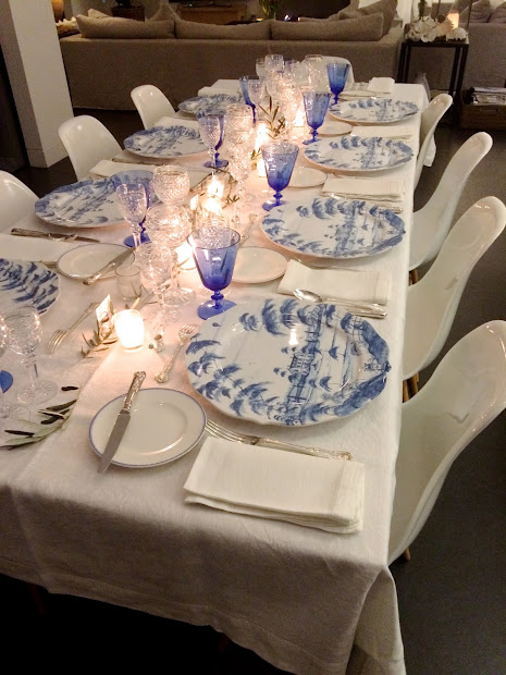 Adelaide Villa Table Setting