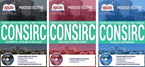 Apostila concurso CONSIRC 2017