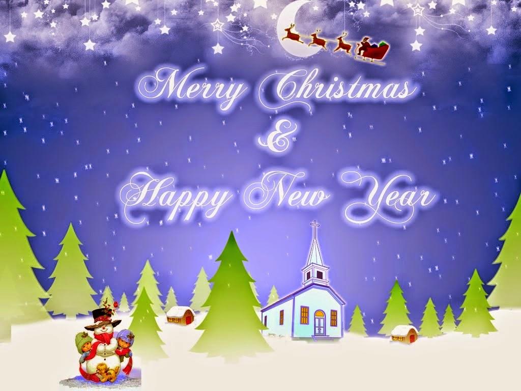 Gambar Foto-Foto Kata Ucapan Selamat Natal Dan Tahun Baru
