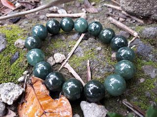 Gelang Manik Giok Jadeite Jade Type A Natural No Treatment JDT011