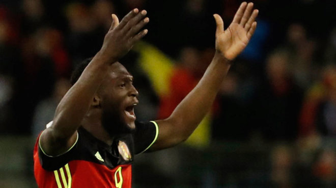 newgersy/ Lukaku rescues draw for Belgium after Greece see red