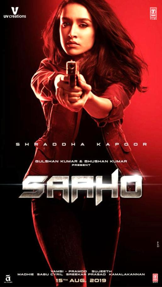 Shraddha Kapoor looks breathtaking in latest Sahoo Poster
