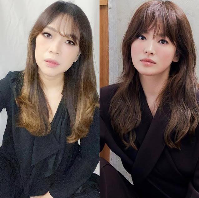 Song Hye Kyo Inspired Hair and Makeup