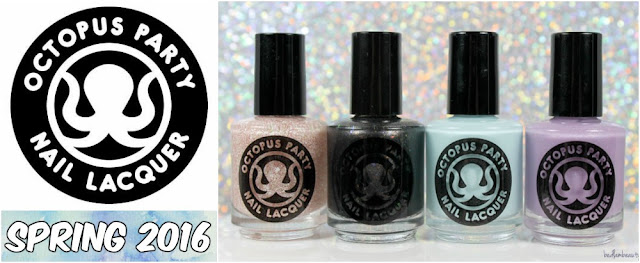 Octopus Party Nail Lacquer Spring 2016